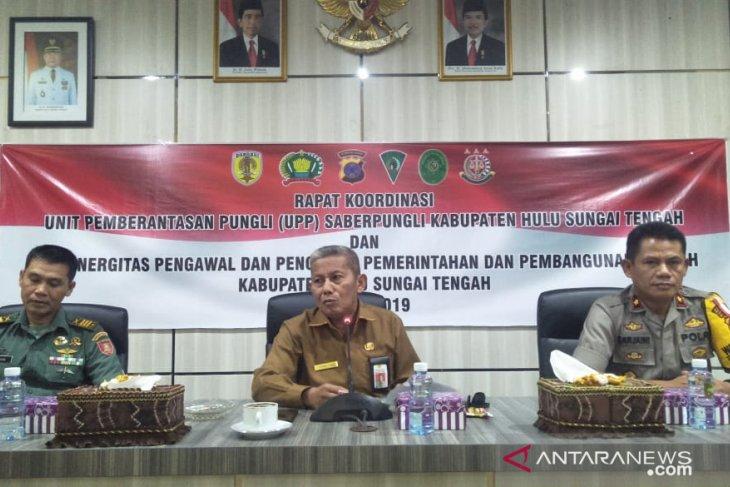 Kinerja Tim Saber Pungli dan TP4D HST dimaksimalkan