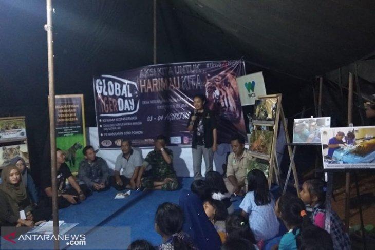 Bahayanya jerat bagi satwa dilindungi harimau Sumatera