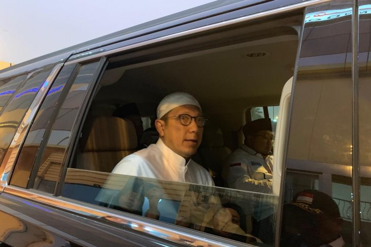 Menag takziyah KH Maimoen Zubair di RS Mekkah