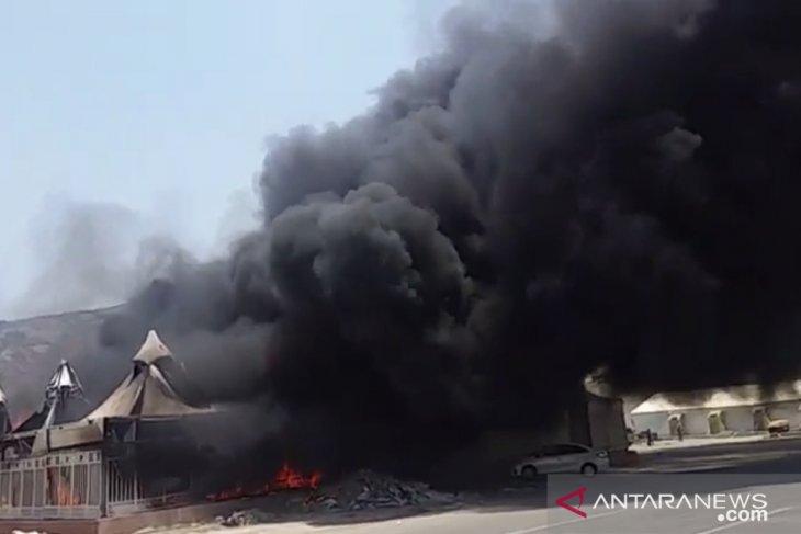 Kebakaran di Mina menimpa tenda jamaah dari Asia Tengah-Selatan