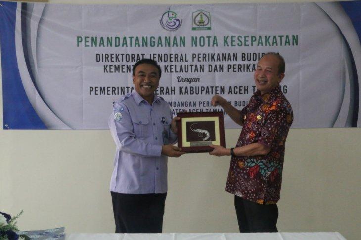 KKP-Pemkab Aceh Tamiang sinergi budi daya udang  berkelanjutan