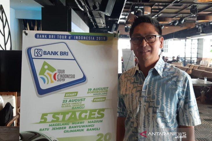 Timnas Indonesia tak hanya numpang lewat di Tour d'Indonesia 2019