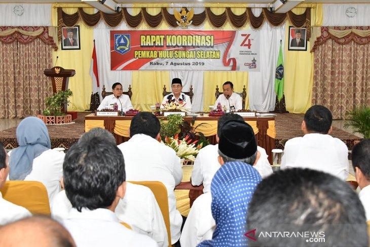 Tujuh kecamatan di HSS rawan titik api