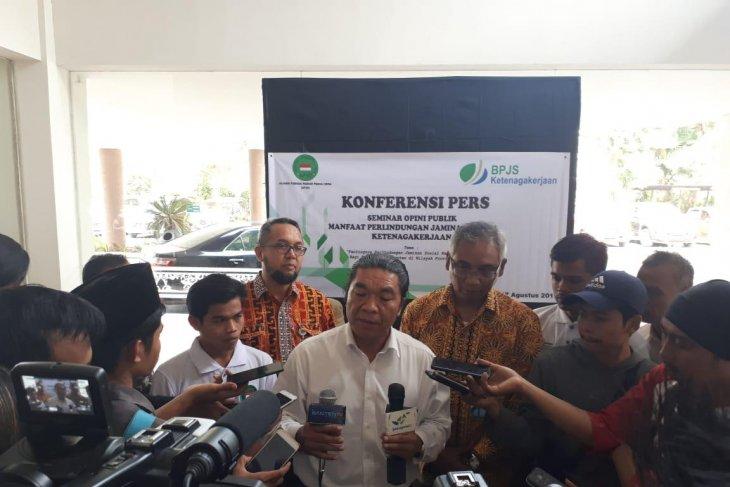 Pemprov Banten perhatikan pekerja rentan jaminan sosial ketenagakerjaan