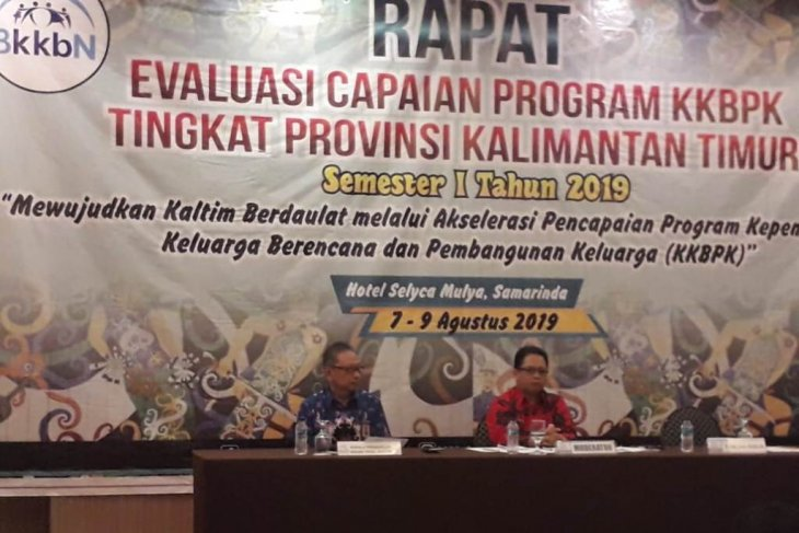 BKKBN Kaltim lakukan evaluasi  capaian  program KKBPK