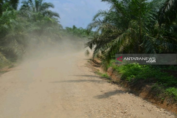 Satgas TMMD rampungkan pembangunan jalan penghubung dua desa