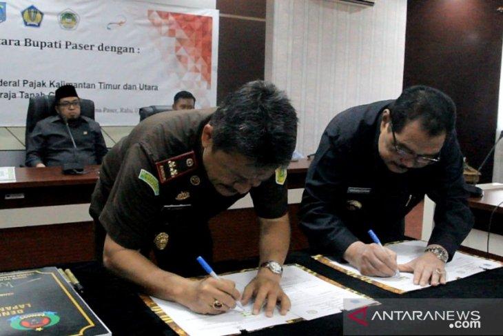 Bupati Paser tandatangani kesepakatan dengan empat instansi