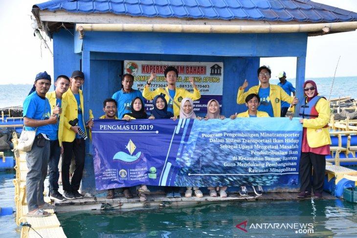 UI ciptakan alat minatransporter untuk jaga kesegaran ikan