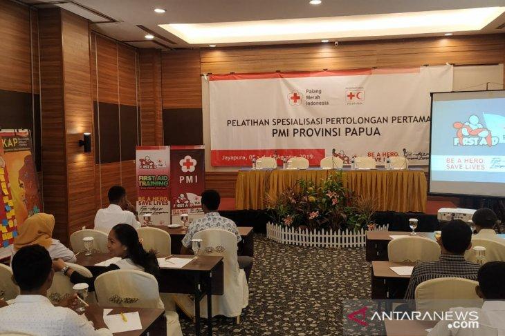 PMI Papua perkuat kapasitas personel relawan spesialisasi pertolongan pertama