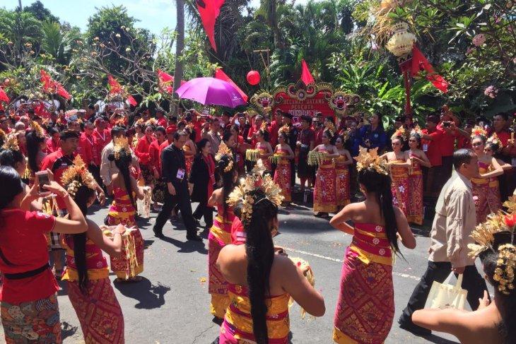 PDI Perjuangan Sekadau komit dukung Megawati
