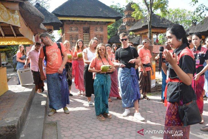 55 mahasiswa dari 20 negara kunjungi Kawasan Pusaka Denpasar