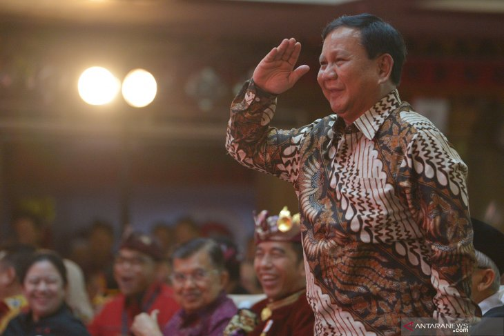 Pemindahan ibu kota diakui Prabowo sebagai perjuangan Gerindra sejak 2014