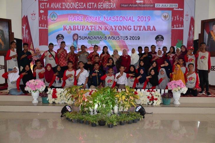 Peringatan Hari Anak Nasional di Istana Rakyat