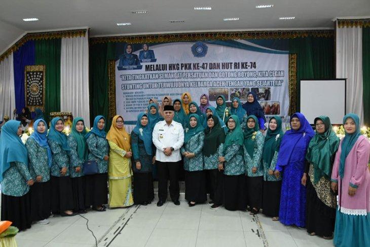 TP-PKK Aceh Tengah gelar seminar gagal tumbuh
