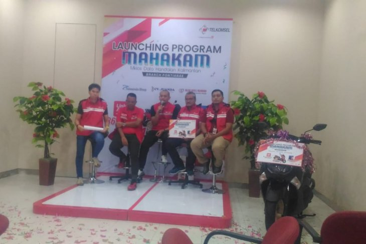 Banjir hadiah, Telkomsel launching program