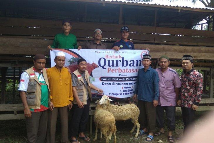 Forum dakwah salurkan hewan kurban ke perbatasan Aceh