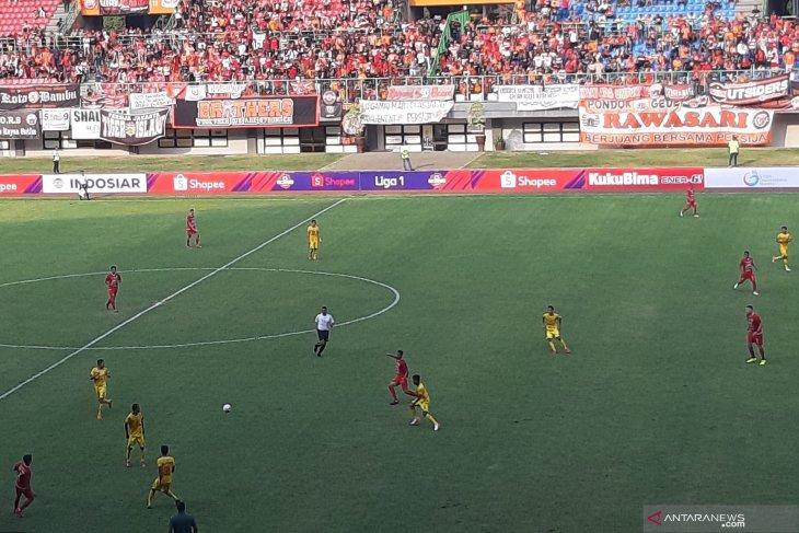 Persija Jakarta ditahan Bhayangkara FC 1-1