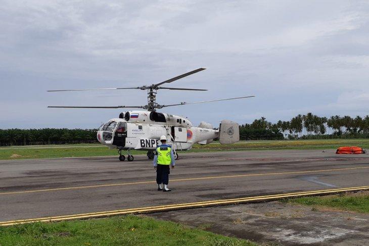 Helikopter dikerahkan padamkan kebakaran lahan di Aceh Barat