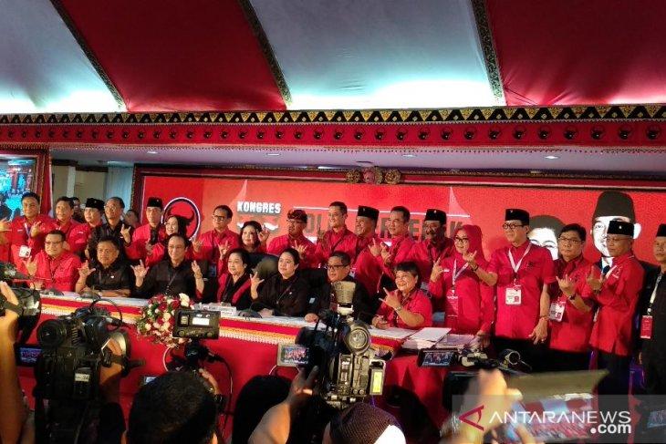 Megawati ingatkan kader PDI Perjuangan berjuang tanpa henti