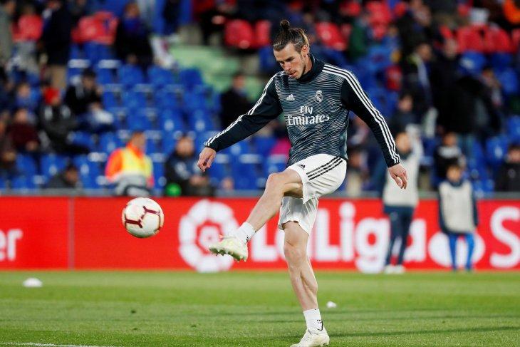 Real Madrid bawa Bale laga pramusim terakhir lawan Roma