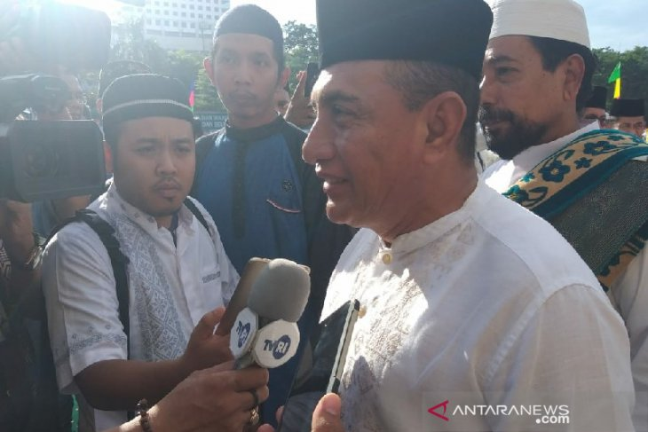 Gubernur Edy Rahmayadi ajak umat Muslim yang mampu berkurban