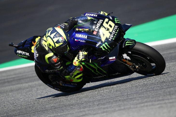 Rossi dan Vinales ungkap penigkatan kecepatan Yamaha di GP Austria