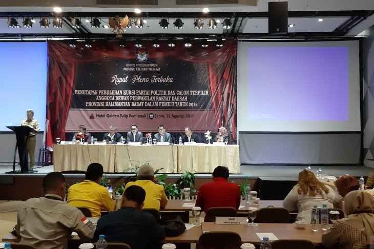 Sekda apresiasi KPU atas lancarnya penyelenggaran Pemilu 2019 di Kalbar