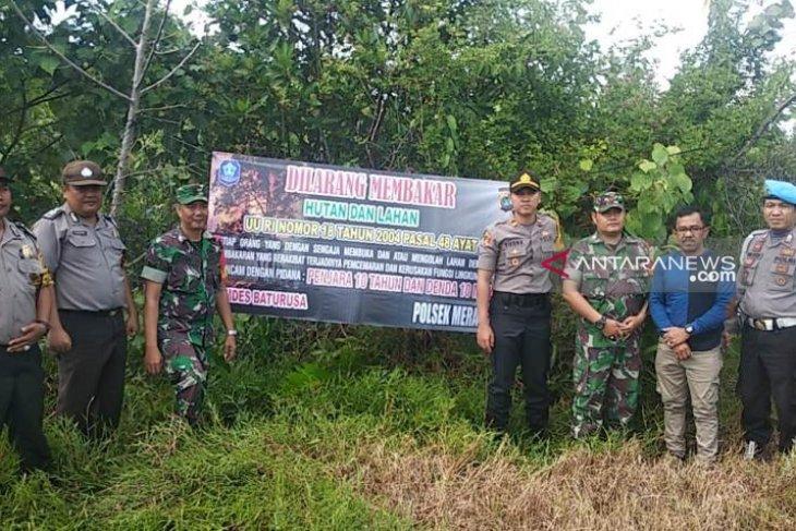 Kapolres Bangka pantau wilayah rawan Karhutla (Video)