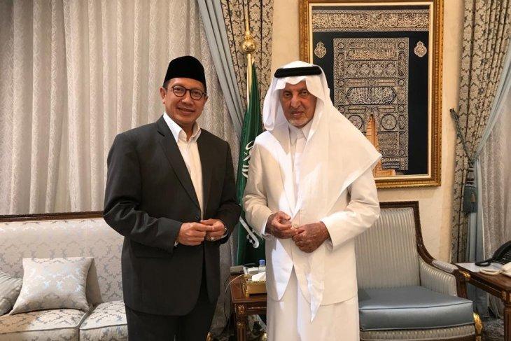 Amirul Hajj temui Gubernur Mekkah bahas renovasi Mina