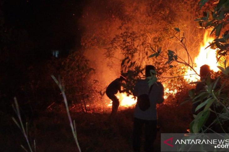 Polisi: Kebakaran hutan di Bangka Barat karena kelalaian manusia