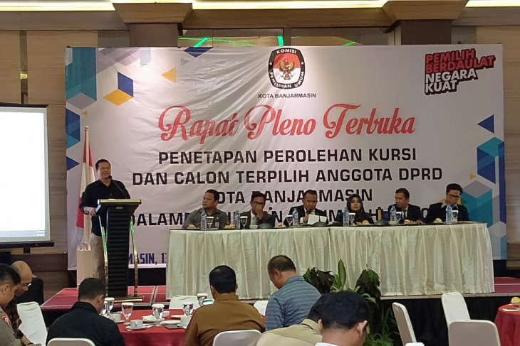 45 anggota DPRD Banjarmasin periode 2019-2024 ditetapkan