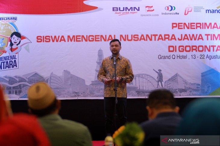 Peserta SMN Jatim diharapkan perkenalkan budaya ke Gorontalo