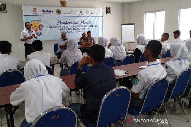 Peserta siswa mengenal nusantara diajak lebih mencintai Indonesia