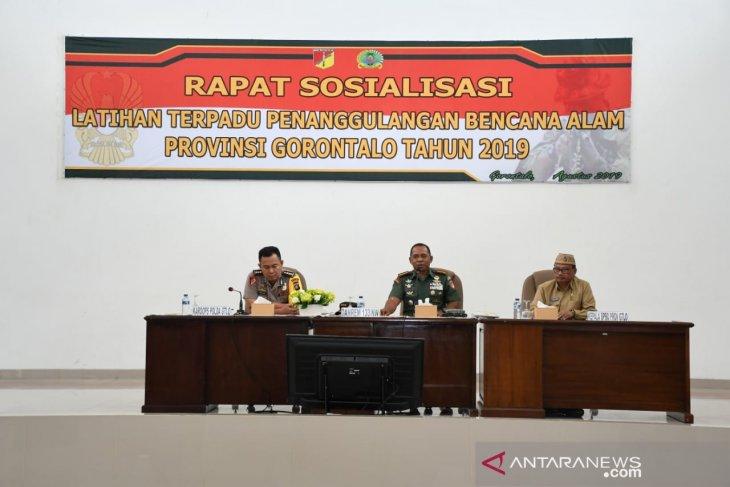 Korem Gorontalo siap tanggulangi kebakaran hutan-lahan