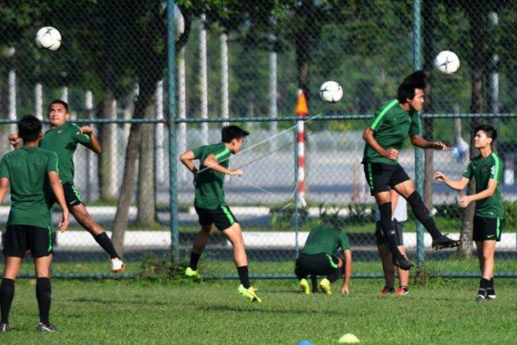 Jelang laga Timnas U-18 Indonesia lawan Myanmar