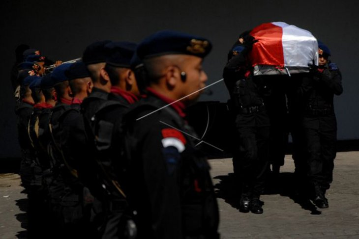 Jenazah polisi korban penculikan KKB di Papua