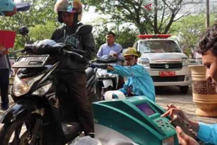 Pemkab Bekasi lakukan kegiatan uji emisi kendaraan gratis