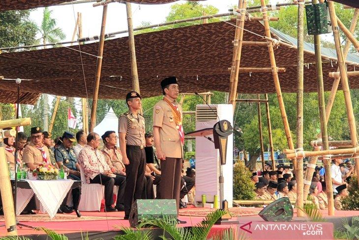 Presiden Jokowi sebut komposisi kabinet 55 persen kalangan profesional