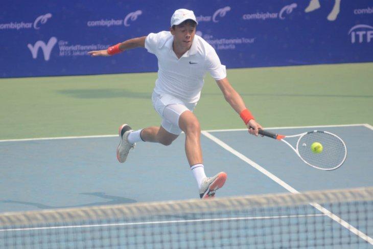 Justin Barki terhenti di babak pertama Combiphar Tennis Open 2019