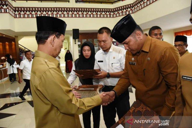 Enam pejabat eselon Pemkab Tapanuli Selatan dilantik