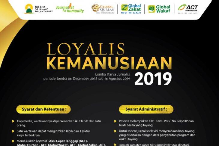 2 Hari Lagi, Lomba Loyalis Kemanusiaan ACT 2019 Berakhir