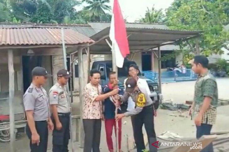 Polsek Toboali laksanakan program Patroli Merah Putih