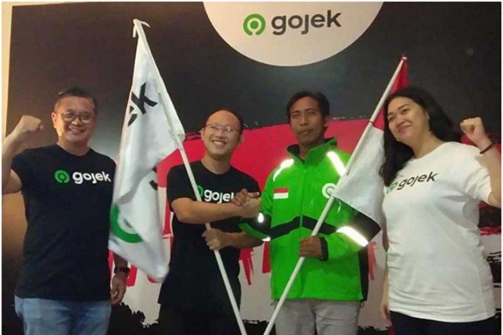 Gojek luncurkan logo baru rajut Sabang-Merauke (video)