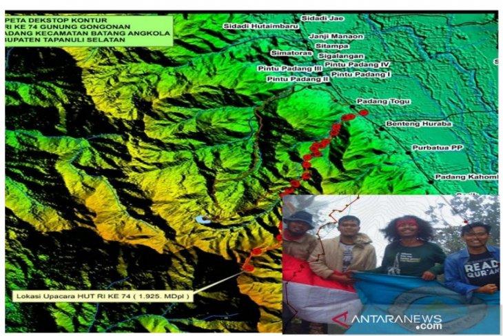 Forester: Jalur merah putih Gunung Gon-gonan selesai dibuat