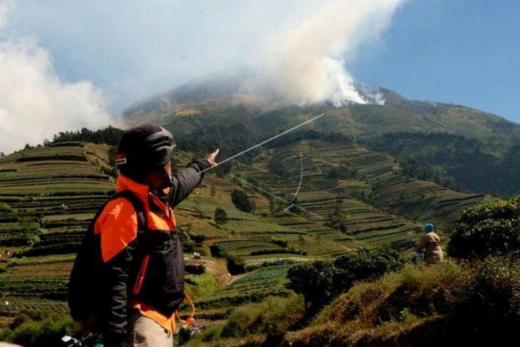 Kebakaran hutan gunung Sumbing