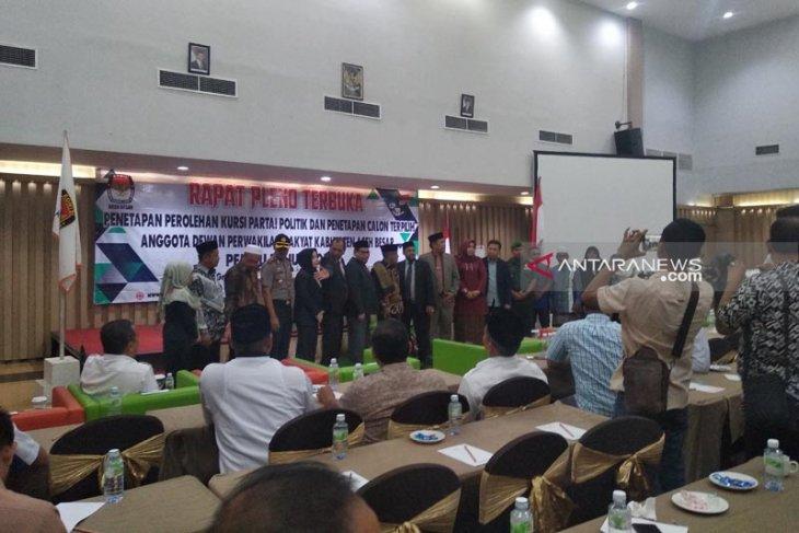 KIP tetapkan 35 anggota DPRK Aceh Besar