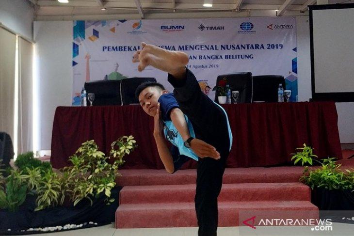 Pelajar SMN Babel akan kenalkan silat khas Bangka Belitung di Sultra