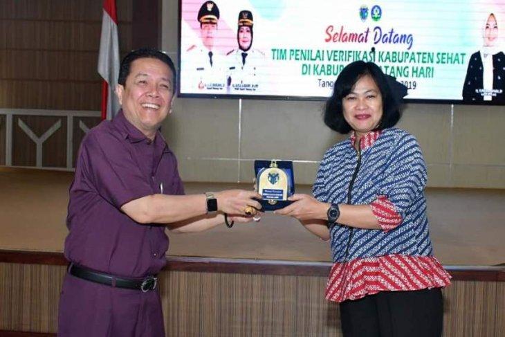 Kabupaten Batanghari terima kunjungan tim verifikasi Kabupaten Sehat