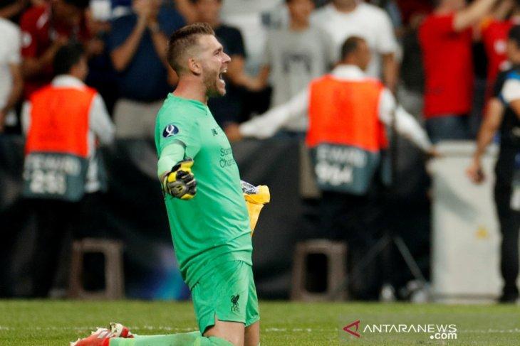 Tundukkan Chelsea lewat adu penalti, Liverpool juara Piala Super Eropa,