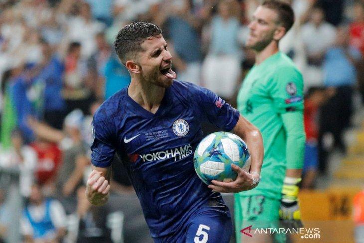 Meski kalah, Lampard puji Jorginho dan Emerson
